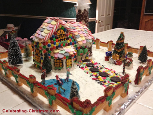 Victorian Gingerbread House & Victorian Gingerbread House u2013 Celebrating Christmas