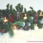Pinecone Centerpiece – Christmas Centerpiece Ideas