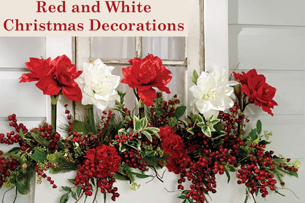 Christmas Color Schemes – Red and White
