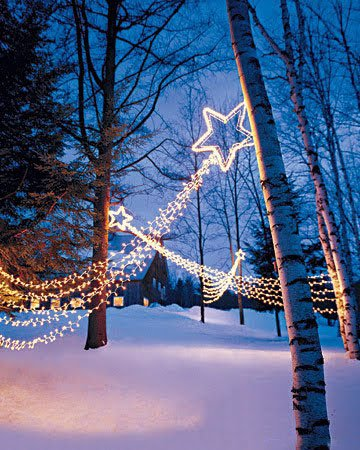 Shooting Star Outdoor Christmas Decorations