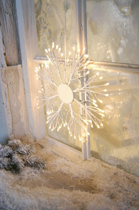 Snowflake Christmas Window Decoration