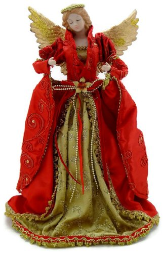 victorian christmas angel tree topper