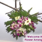 Welcome Home – Christmas Hanging Flower Arrangement