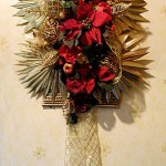 Poinsettia Wall Hanging – DIY Christmas Decoration for Doors or Walls