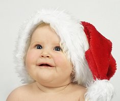 Do not forget to take lots of pictures on your Baby's First Christmas