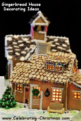 Gingerbread House Construction u0026 Decorating Ideas : decorating ideas gingerbread houses - www.pureclipart.com