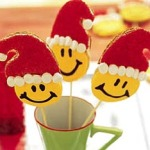 Smiley Santa Cookies Recipe