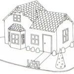 Gingerbread House Blueprint – Victorian House