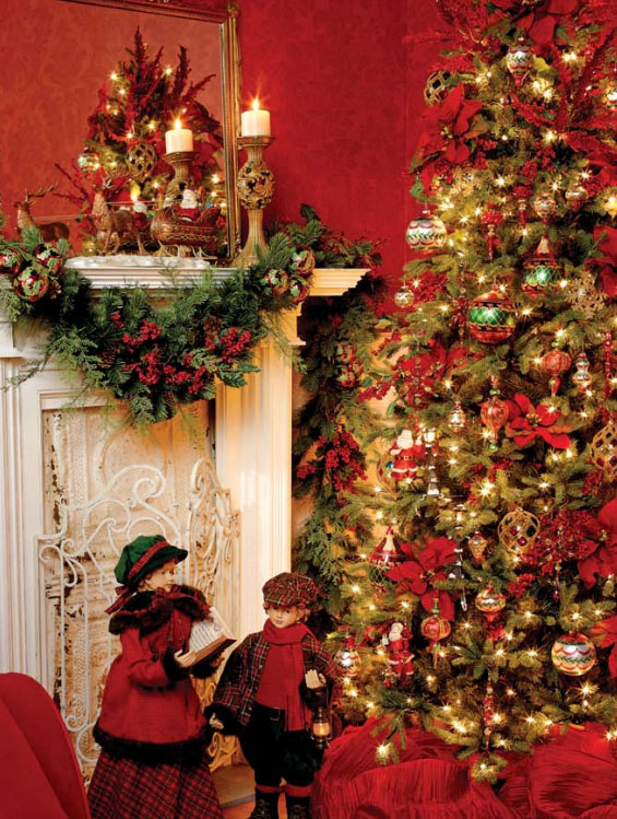 7 beautifully festive christmas tree themes celebrating for 12 days of christmas decoration theme